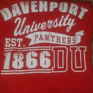 Men's Davenport University t shirt